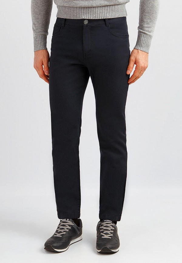 мужские зауженные брюки finn flare, синие