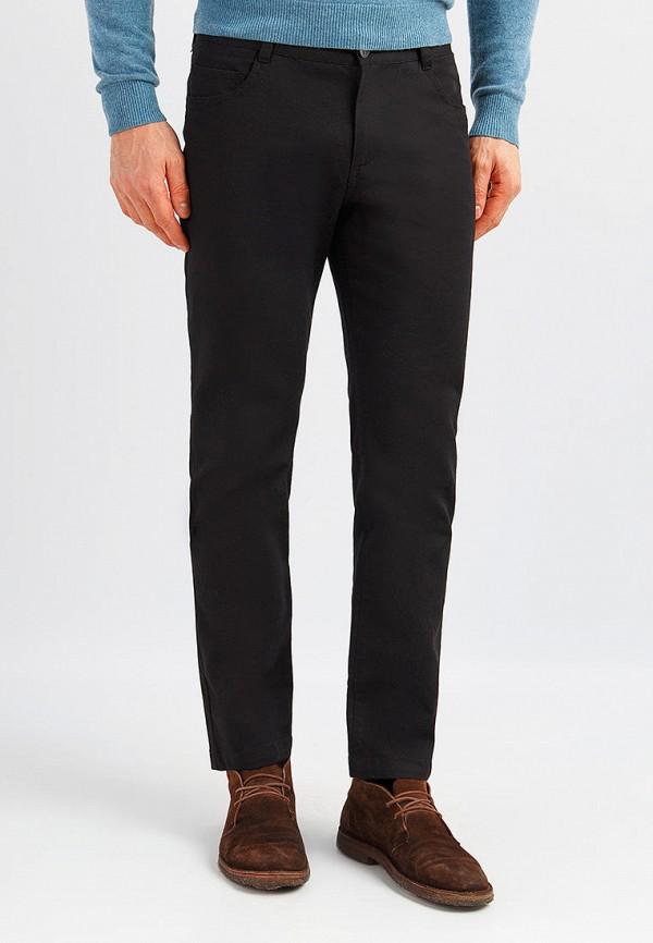 мужские зауженные брюки finn flare, черные