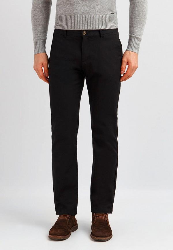 мужские прямые брюки finn flare, черные