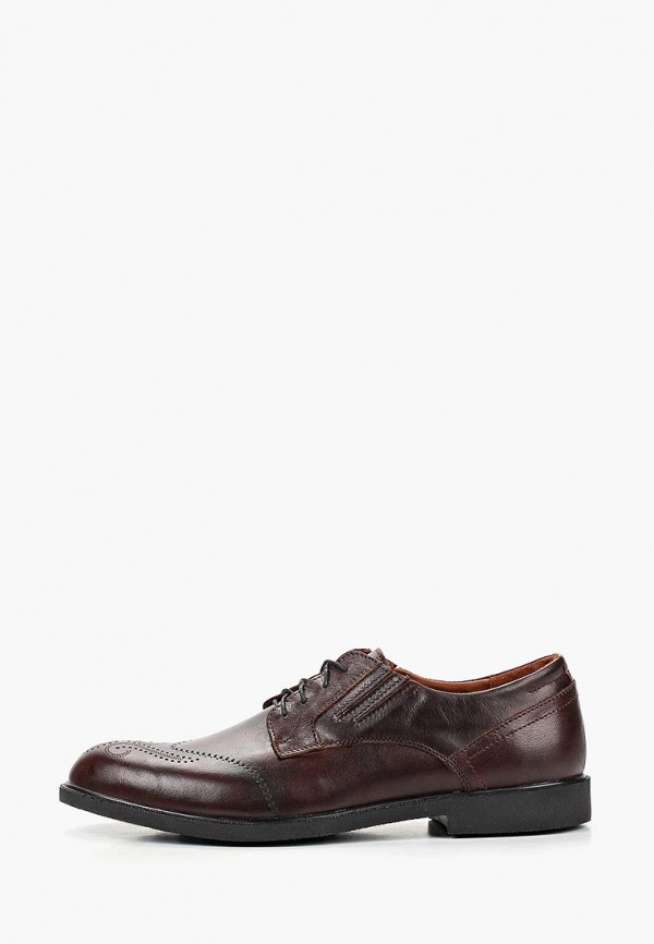 мужские туфли alessio nesca, коричневые