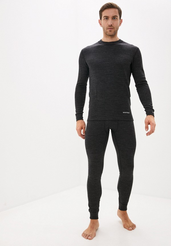 мужское термобелье montero, черное