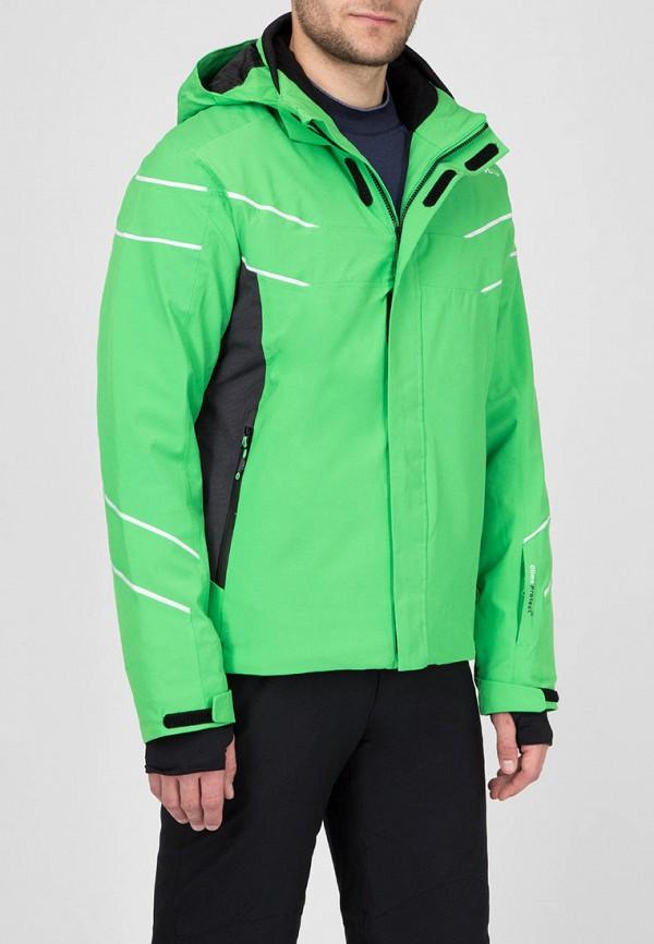 мужская куртка cmp, зеленая