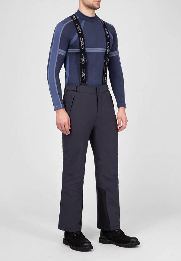 мужские брюки cmp, серые