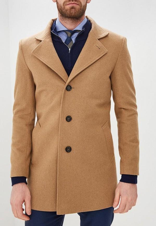 мужское пальто sainy, бежевое