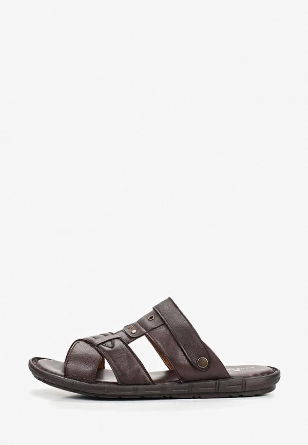 мужские сандалии pierre cardin, коричневые