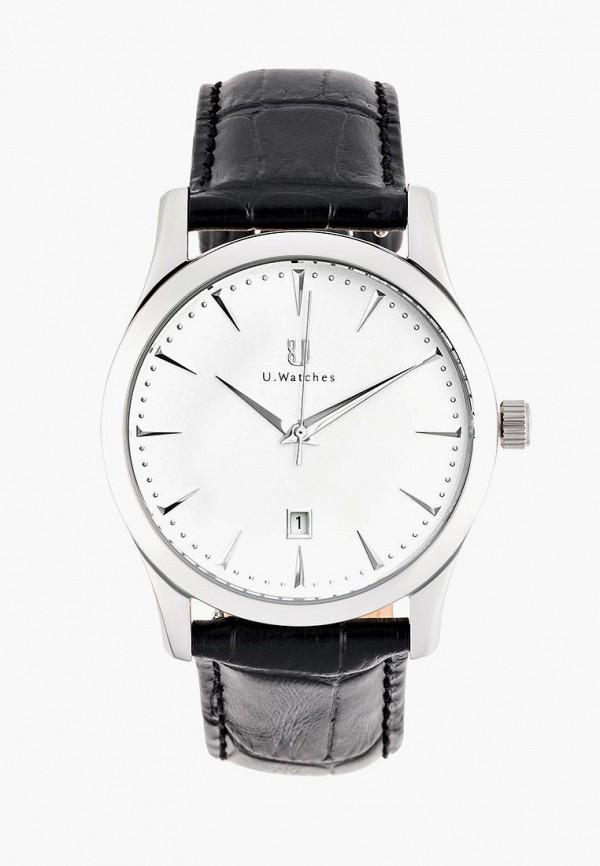 мужские часы u.watches, черные
