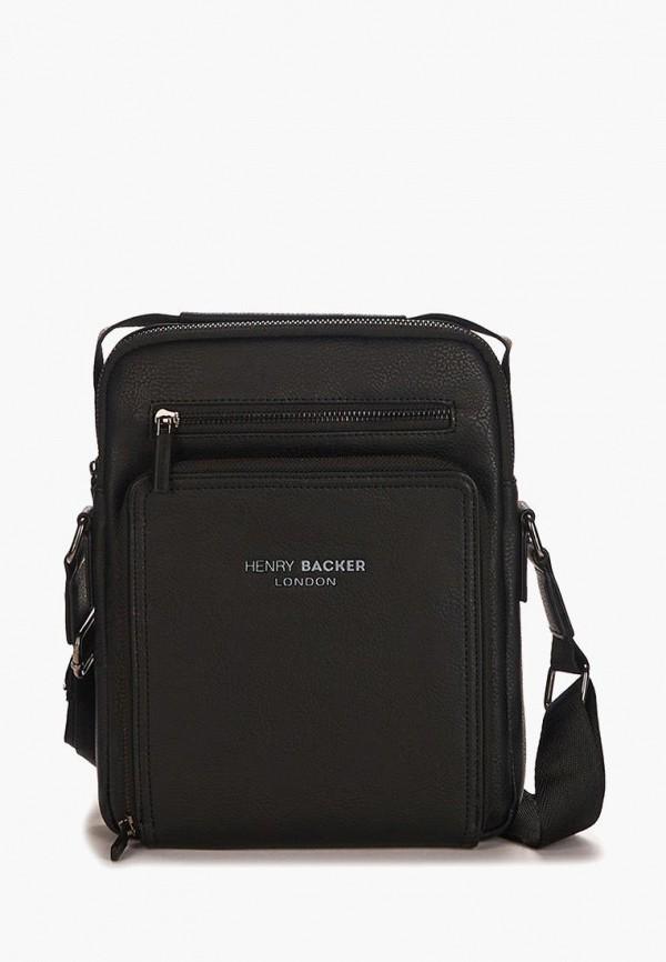 мужская сумка henry backer, черная