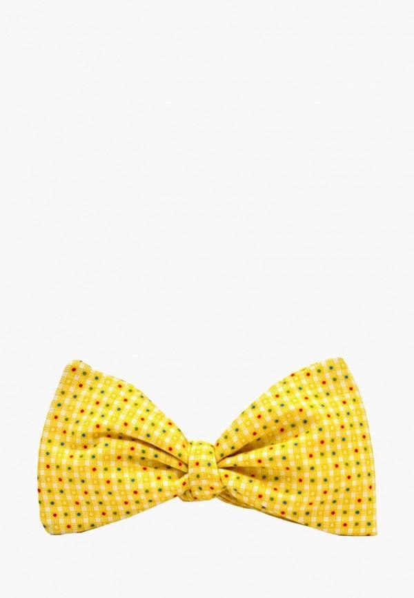 мужские галстуки и бабочки krago, желтые