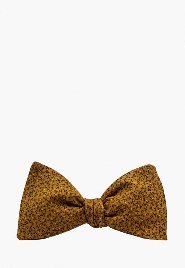 мужские галстуки и бабочки krago, коричневые