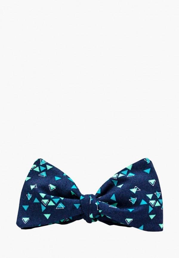 мужские галстуки и бабочки krago, синие
