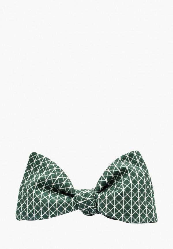 мужские галстуки и бабочки krago, зеленые