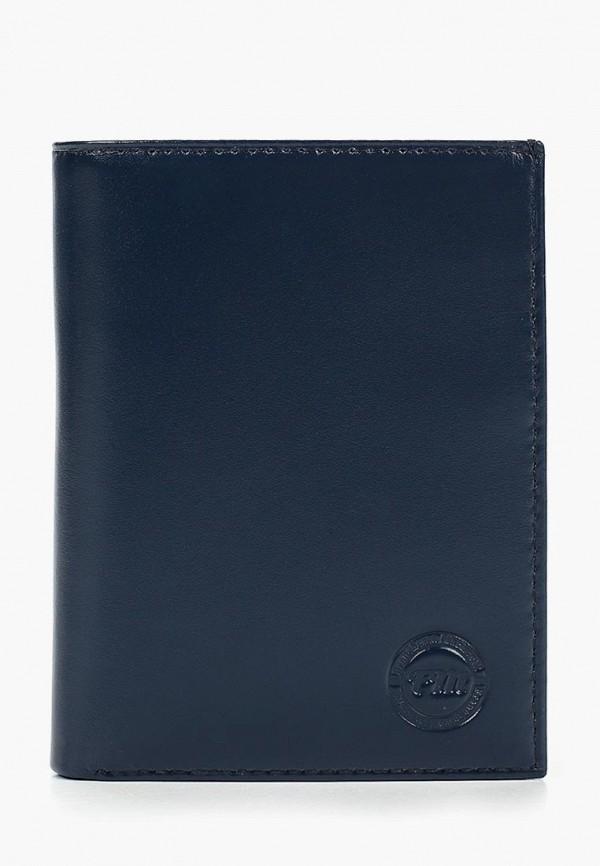 мужской кошелёк franchesco mariscotti, синий