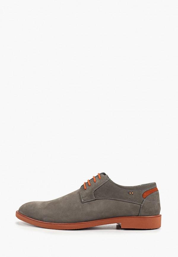 мужские туфли shoiberg, серые