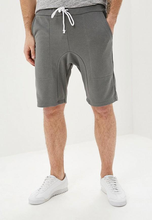мужские повседневные шорты brainwear, серые
