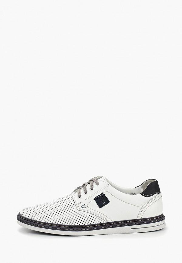 мужские ботинки alessio nesca, белые