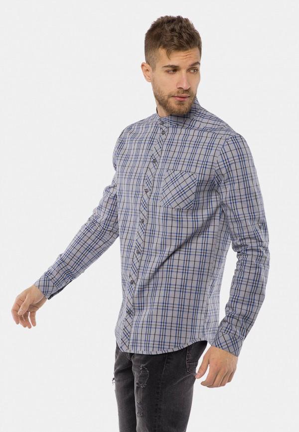 мужская рубашка с длинным рукавом mr520, голубая