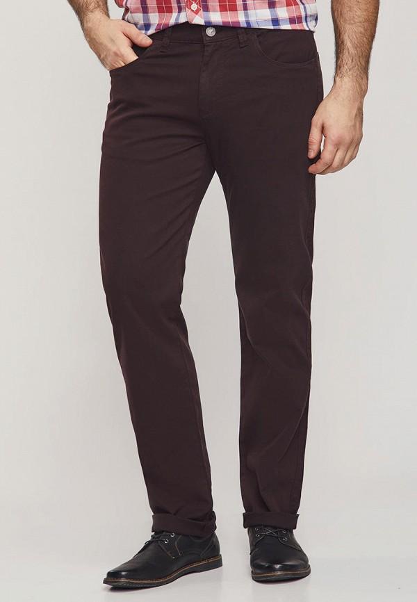 мужские повседневные брюки mossmore, бордовые