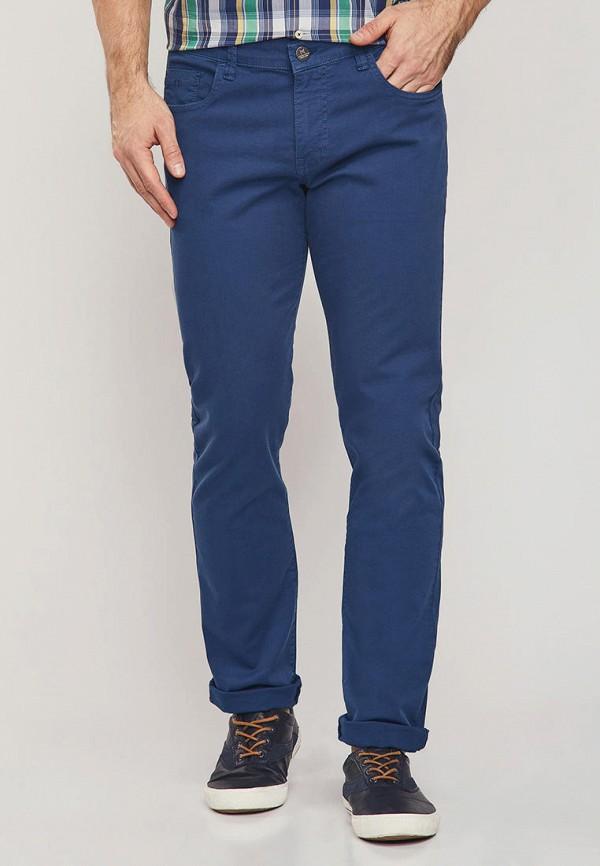 мужские повседневные брюки mossmore, синие