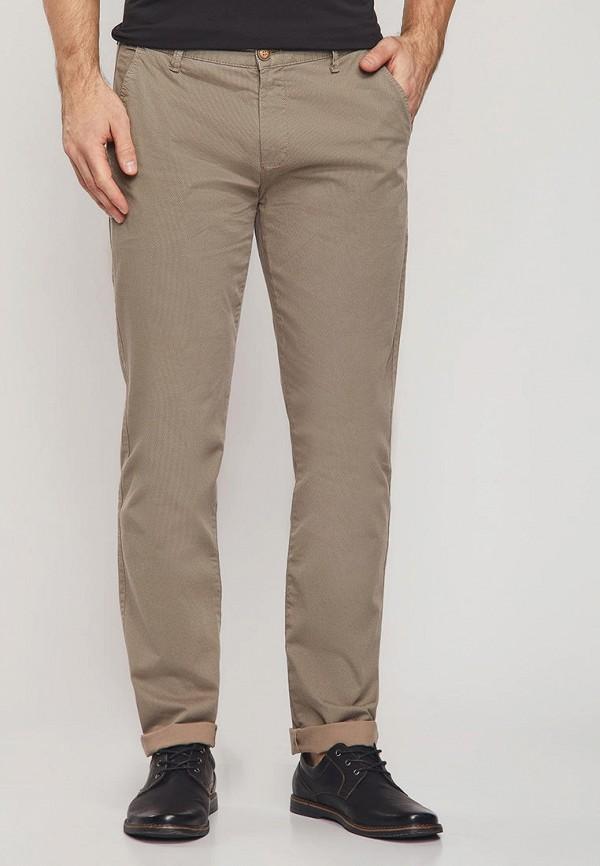 мужские повседневные брюки mossmore, коричневые