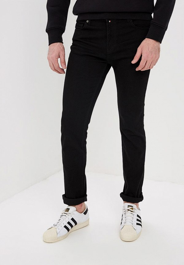 мужские зауженные джинсы f5, черные