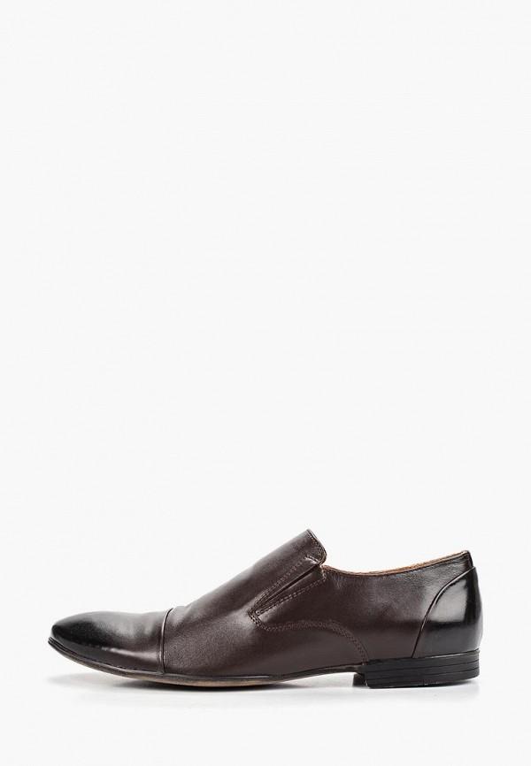 мужские лоферы dino ricci select, коричневые