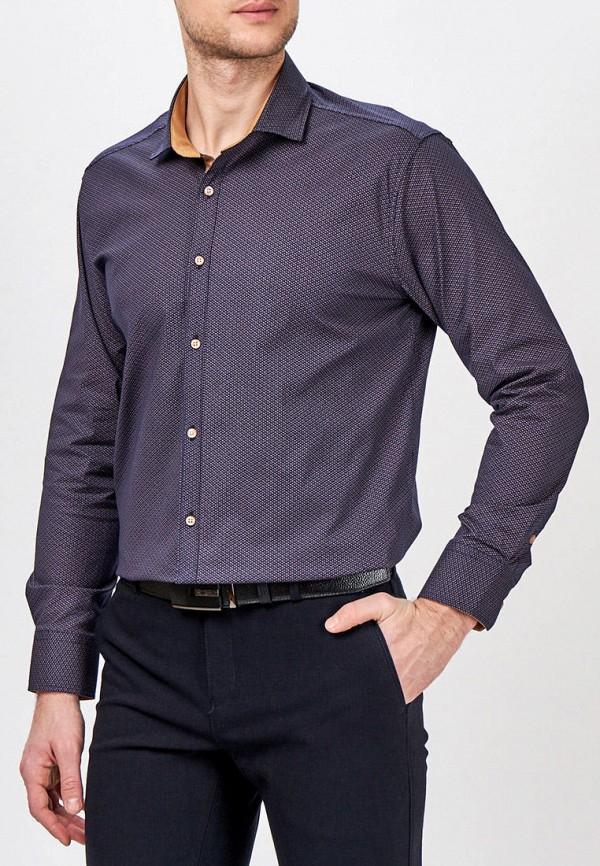 Фото - Мужскую рубашку Paspartu синего цвета