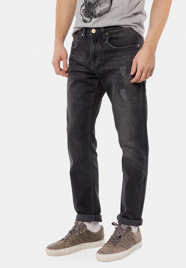 мужские прямые джинсы mr520, черные