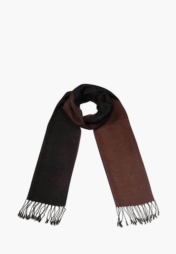 мужской шарф dr.koffer, коричневый