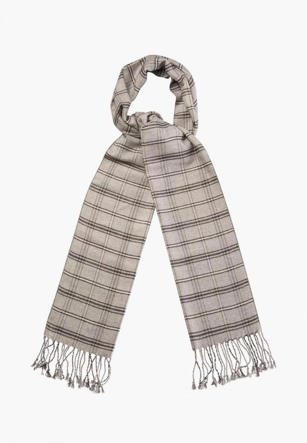 мужской шарф dr.koffer, серый
