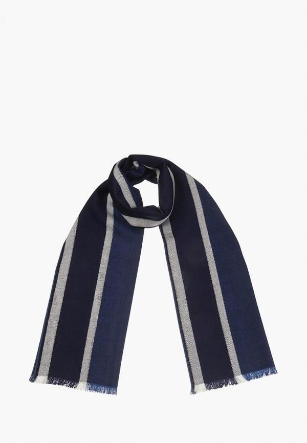 мужской шарф dr.koffer, синий