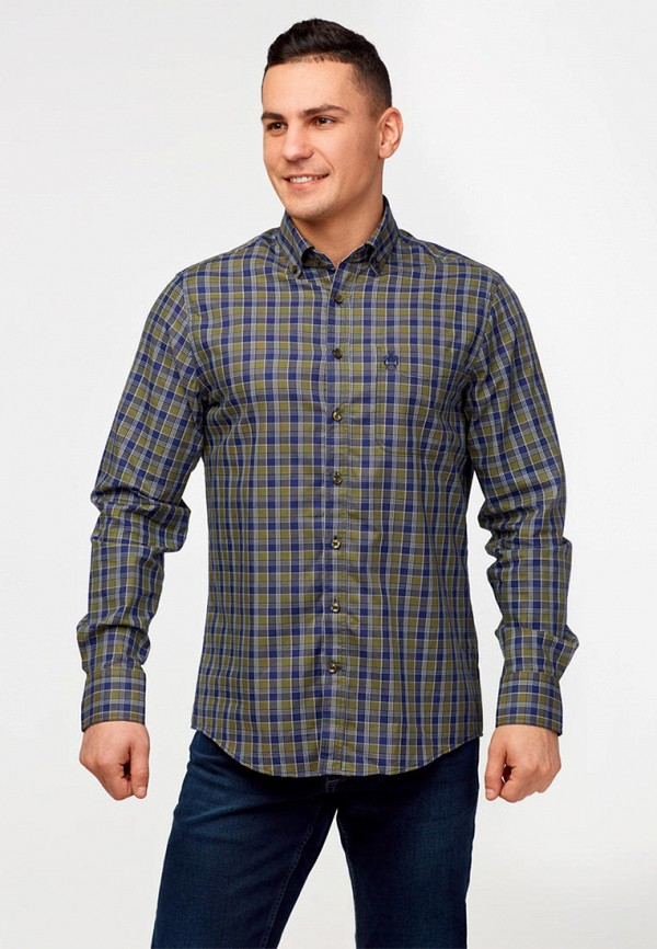 мужская рубашка с длинным рукавом campione, разноцветная