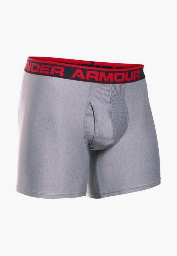 мужские трусы-боксеры under armour, серые