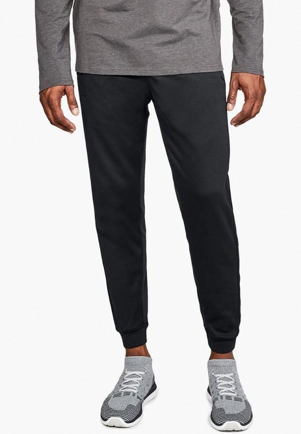 мужские спортивные спортивные брюки under armour, черные