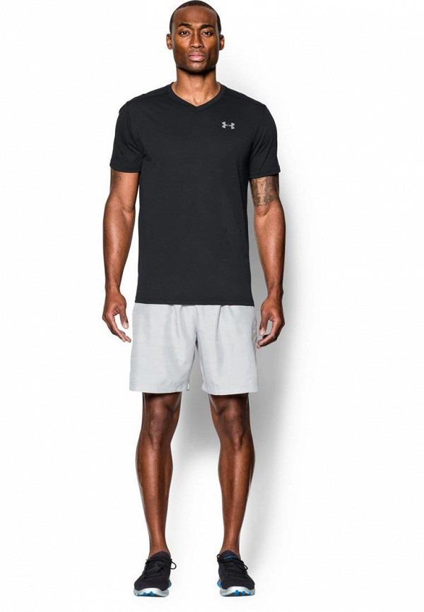 мужская спортивные футболка under armour, черная