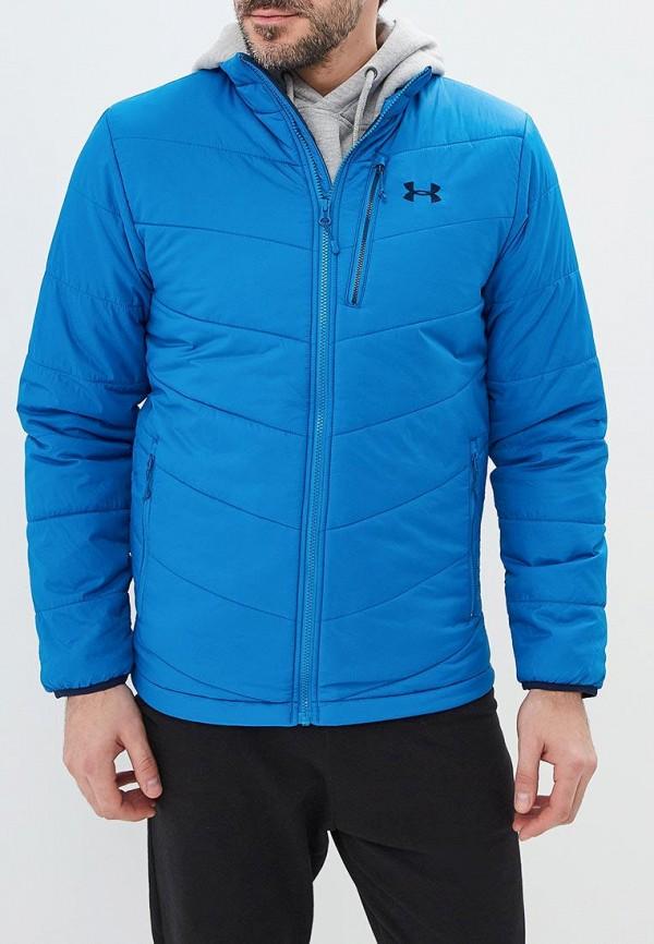 мужская куртка under armour, голубая