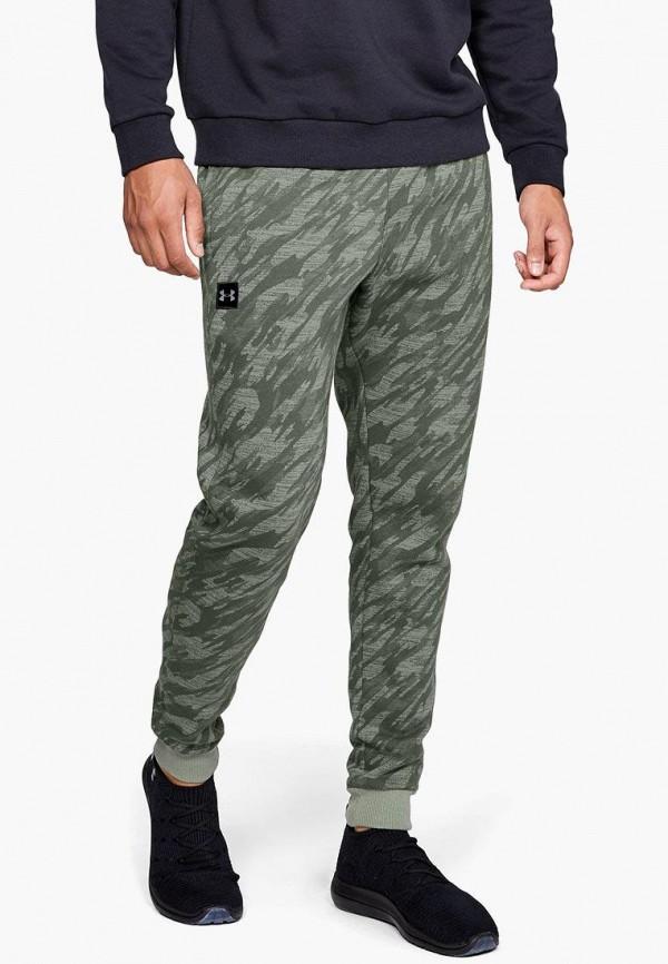 мужские спортивные спортивные брюки under armour, зеленые