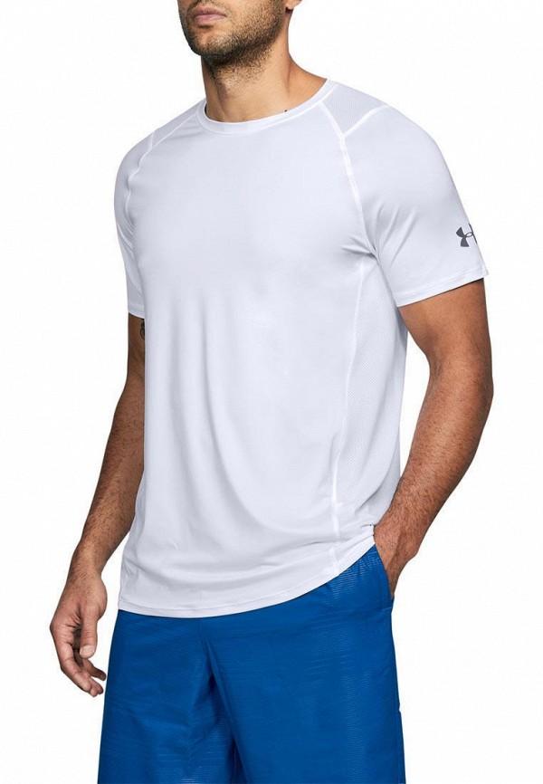 мужская спортивные футболка under armour, белая