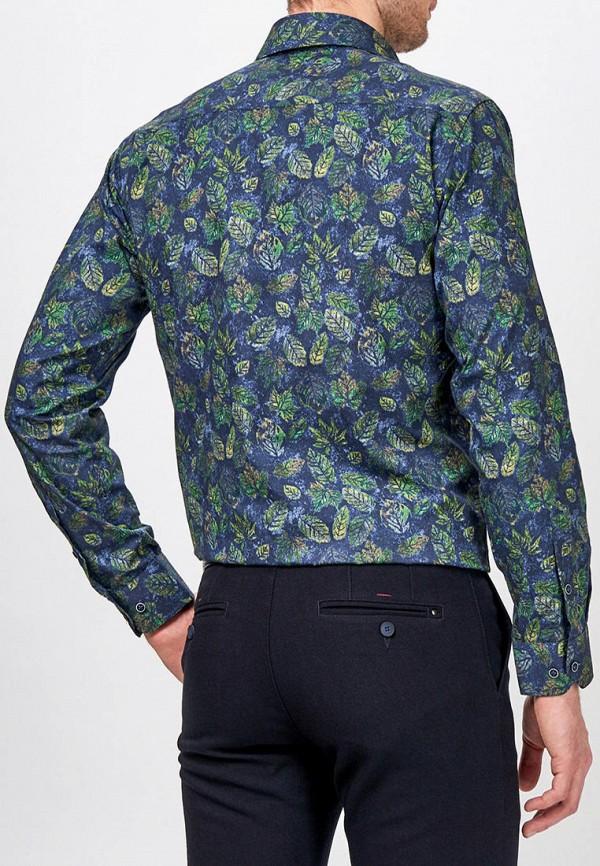Фото 3 - Мужскую рубашку Paspartu синего цвета