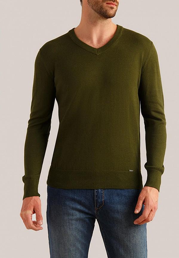 мужской пуловер finn flare, зеленый
