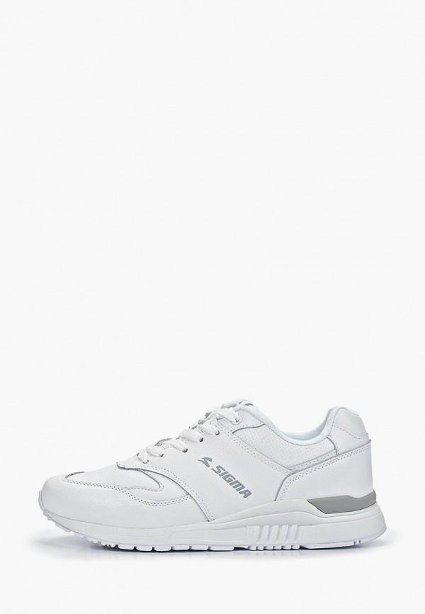 Купить Мужские кроссовки Sigma белого цвета