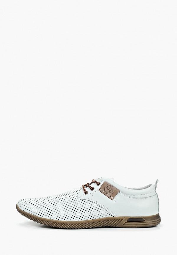 мужские туфли alessio nesca, белые