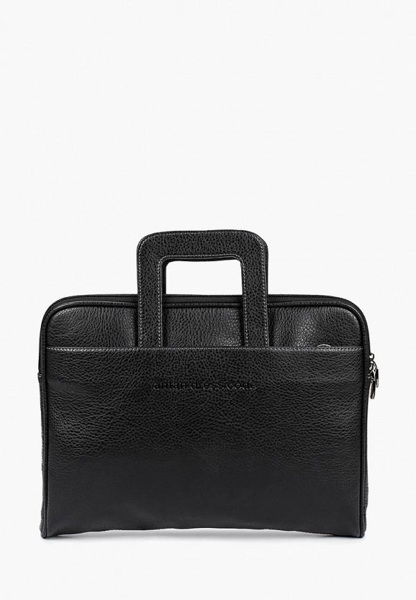 мужской портфель antan, черный