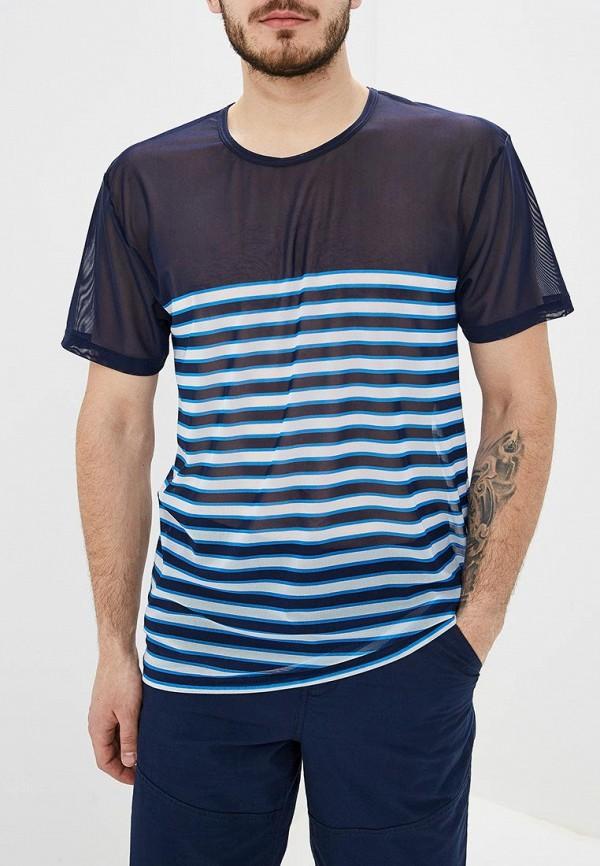 мужская футболка с коротким рукавом charmante, синяя