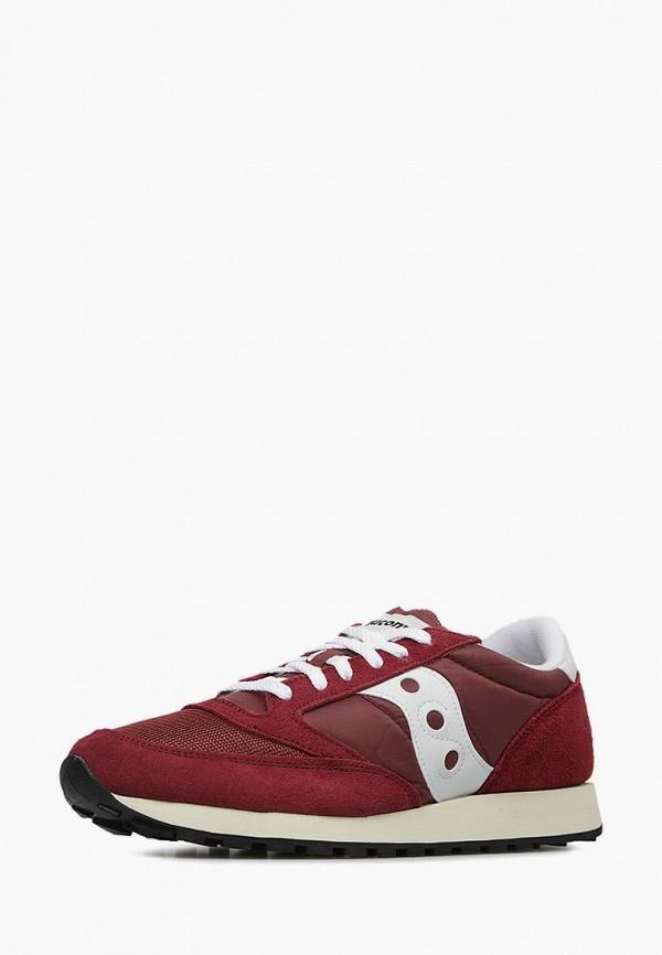 мужские кроссовки saucony, бордовые