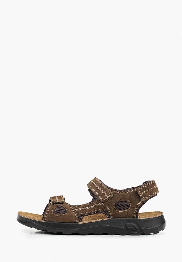 мужские сандалии alessio nesca, коричневые