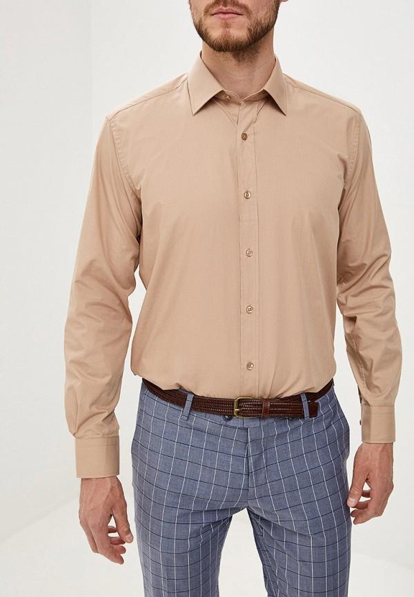 Купить Мужскую рубашку Karflorens бежевого цвета