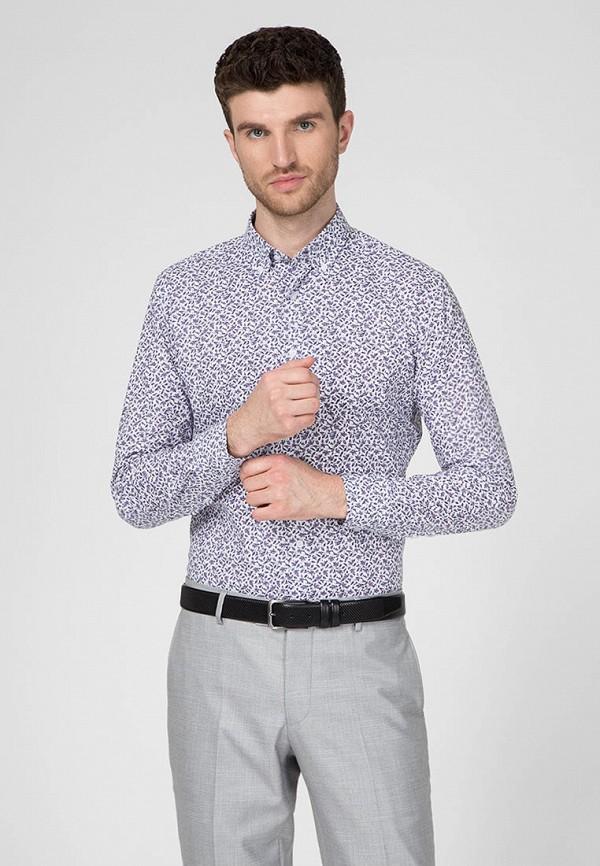 мужская рубашка с длинным рукавом navi, фиолетовая