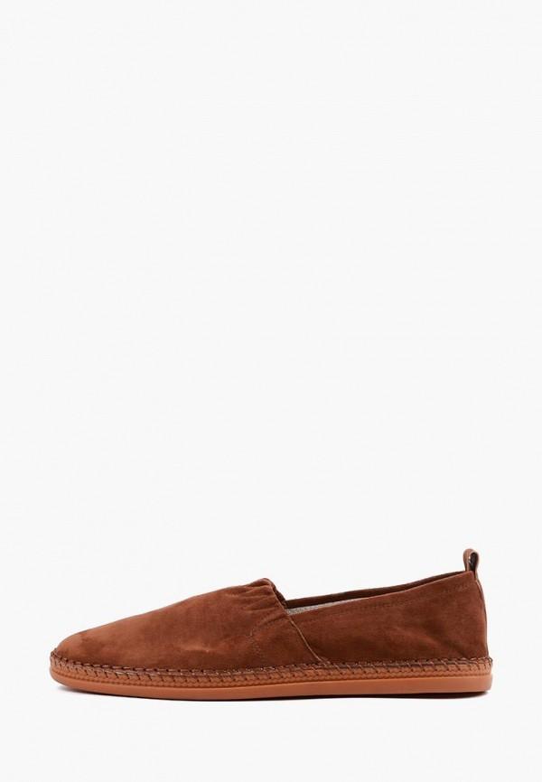 мужские слипоны leberdes, коричневые