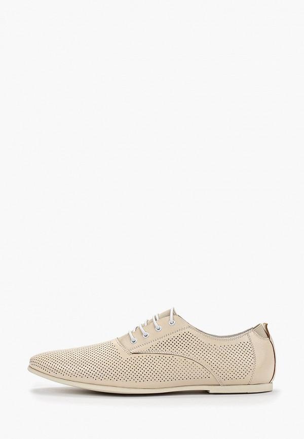 мужские туфли franco bellucci, бежевые