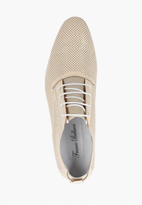 Туфли Franco Bellucci цвет бежевый  Фото 4